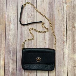 Tory Burch Black Gold Crossbody Bag